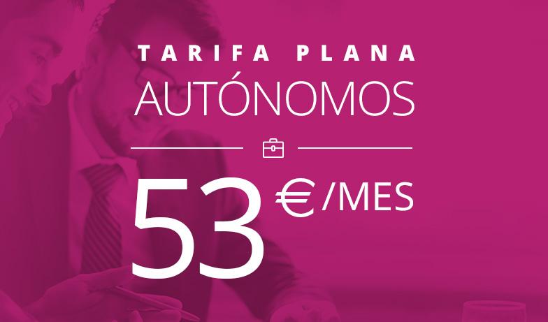 Autónomos 53 euros mes